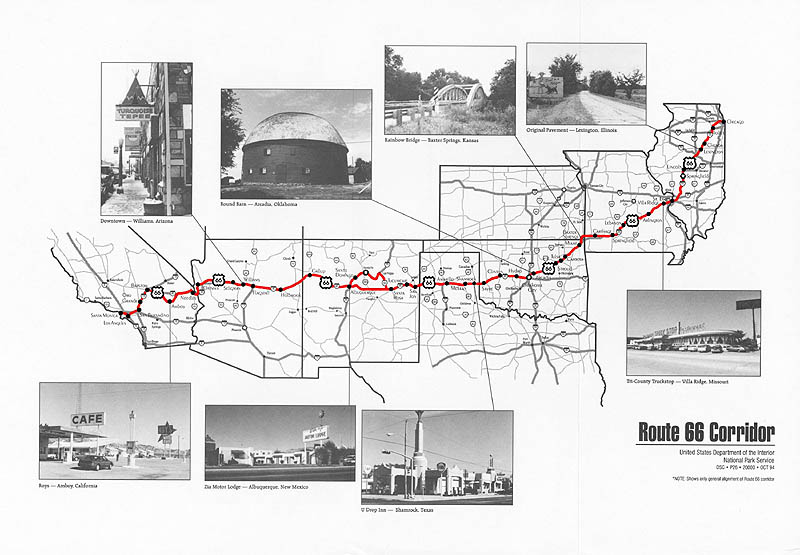 Worksheet. History of ROUTE 66